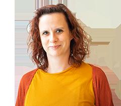 Das Bild zeigt Chrissy, die Mitarbeiterin der Servicestelle Jugendbeteiligung © Servicestelle Jugendbeteiligung e. V., 2020