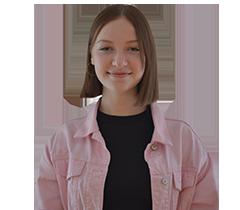 Auf dem Bild ist Franzi, die Freiwilligendienstleistende der Servicestelle Jugendbeteiligung, zu sehen. © Servicestelle Jugendbeteiligung e. V., 2020
